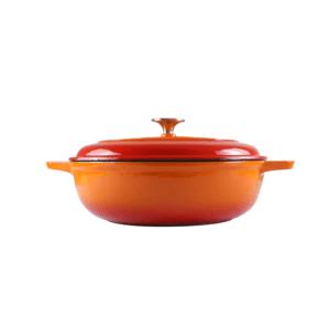 160-040 - orange casserole dish 1