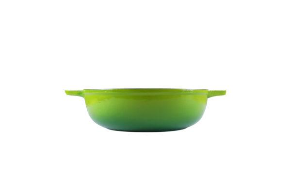 Chef Round Casserole Green Dish_5