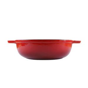 Chef Round Casserole Red Dish_5