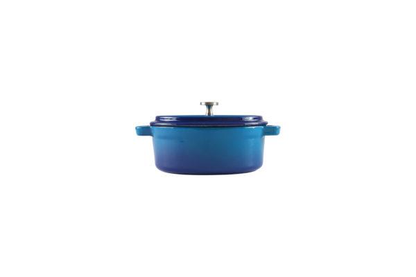 Chef Oval Ramekin Blue