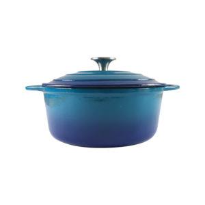 Chef Round Casserole Blue