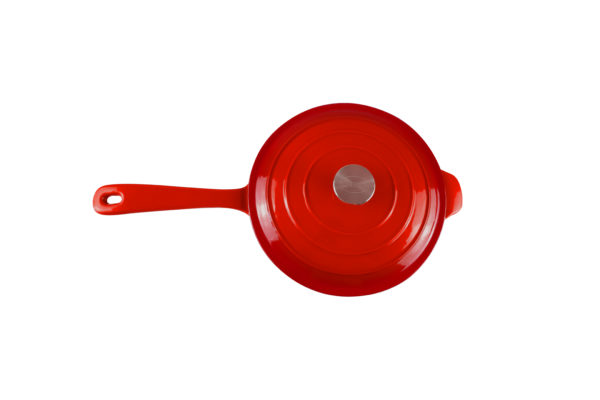 Chef Sauce Pan Red_4