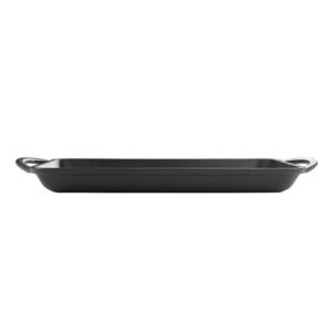 160-116 - matt black grill plate 2